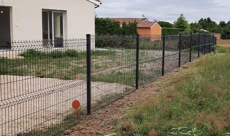 Création d'une clôture - Montauban - Arlequin Espaces Verts